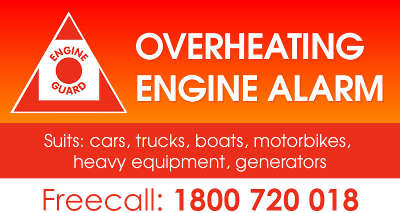 Engine Guard | Overheating Engine Alarm  Just $99 but will
